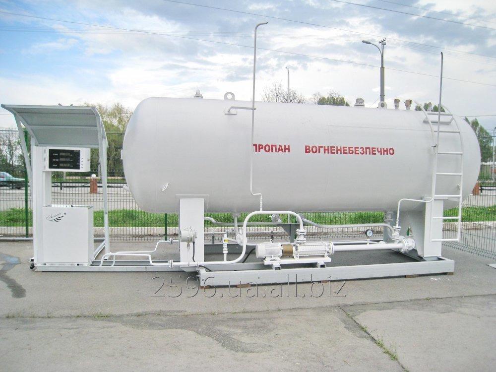 Стационарный заправщик газа СЗГ ( наземный)