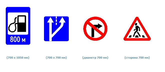 Знаки дорожные переносные ( ЗАВОД ИЗГОТОВИТ )