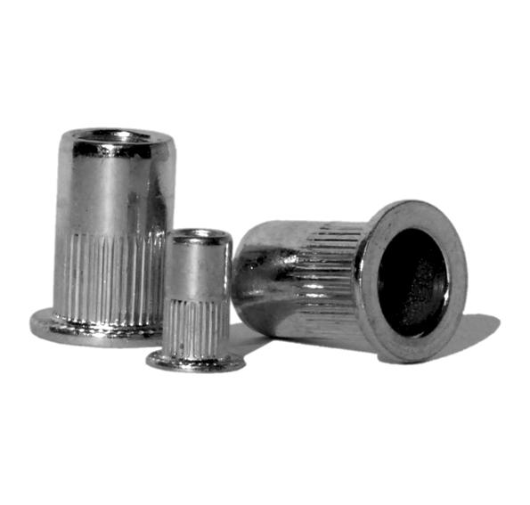 Заклёпка - гайка вытяжная стальная