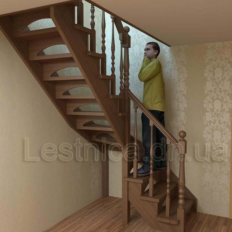 Купить Лестницы деревянные малогабаритные