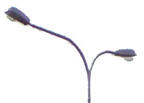 Кронштейны осветительные для мачт электропередач