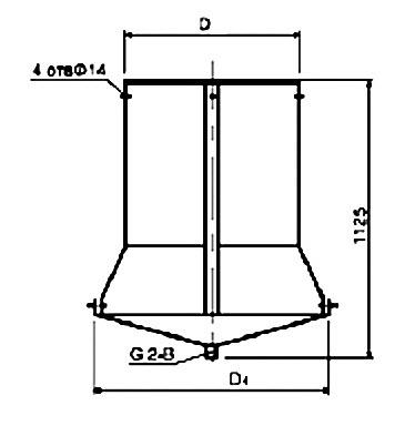 Купить Поддоны к стаканам крышных вентиляторов Элементы и комплектующие систем промвентиляции