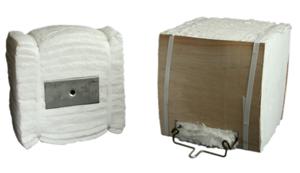 Модульные блоки из керамического волокна TM Thermal Ceramics.