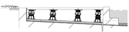 Винтовые регулируемые опоры для террас, фонтанов и фальшполов Buzon