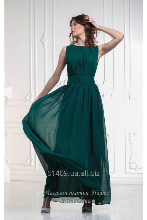 Купить шифоновое вечернее платья