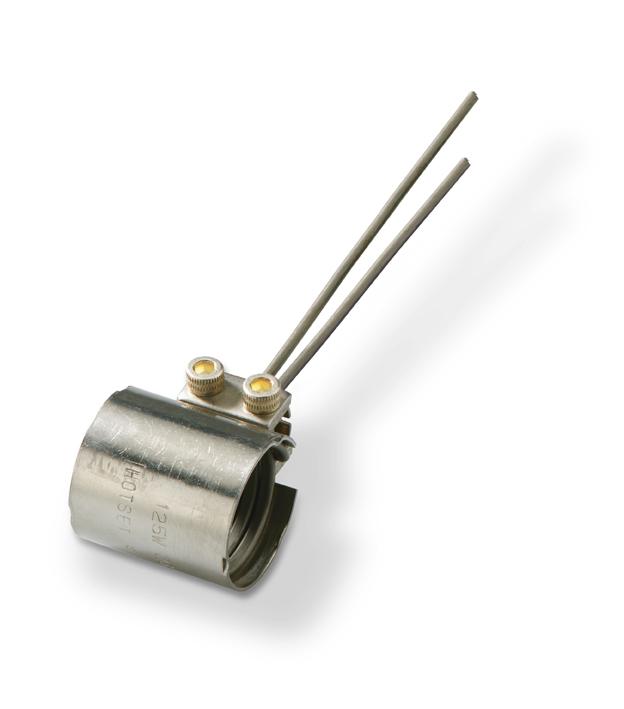 Спиральный нагреватель WRP/mini hotspring® с тангенциальным зажимным механизмом