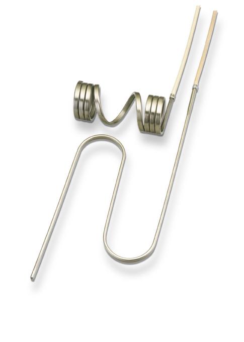 Спиральный нагреватель WRP/F hotspring® прямоугольного сечения 2,2х4,2 мм, 195 Вт