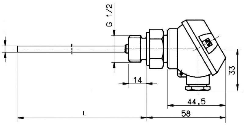 Термопара MT 319