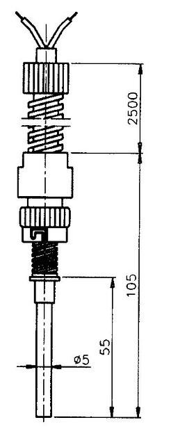 Термопара T 02