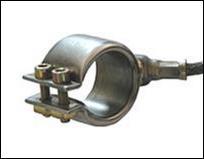 Хомутовый нагреватель тип DGK, ⌀ 30x16 мм, 130 Вт, 230 В, выводы 1000 мм