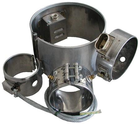 Кольцевой нагреватель со слюдяной изоляцией, D=100х70 мм, 500W, 230V