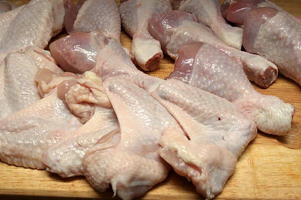 Купить Крылья куриные. Доставка по Украине