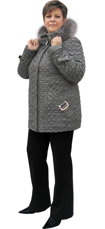 Куртка зимова від виробника оптом. Розмір 50-68. Модель 287-1. Зимовий  верхній жіночий одяг більших розмірів. Швейна фабрика Welly. 788d3fa045cf3