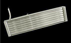 Инфракрасный нагреватель кварцевый полный F.Q.E. 247x62,5mm