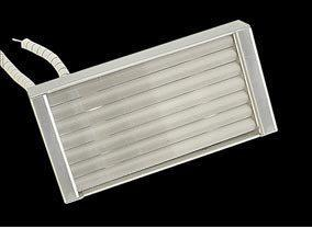 Инфракрасный нагреватель кварцевый половинный H.Q.E. 124x62,5mm 325W  230/240V