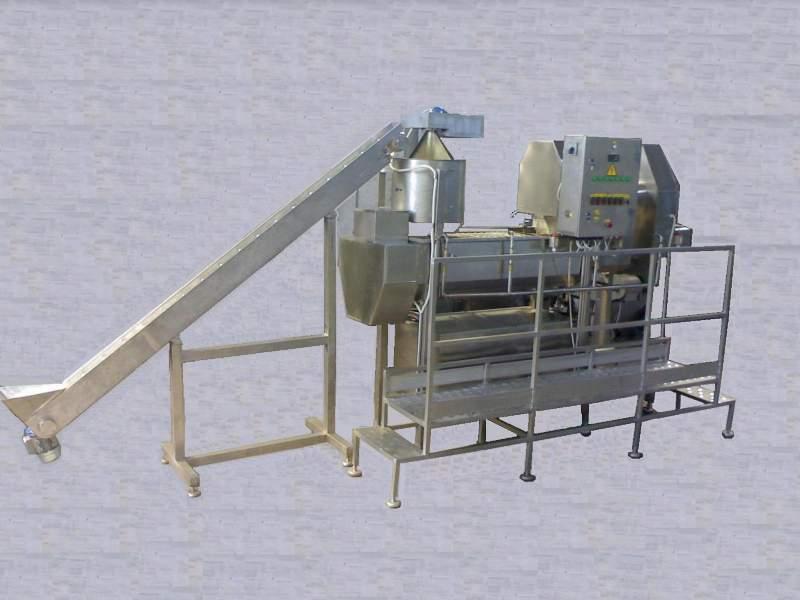 Cheese production line Mozzarella