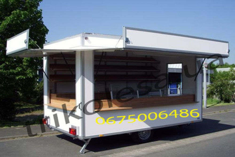 Buy The trailer trade for sale of pastries and flour products