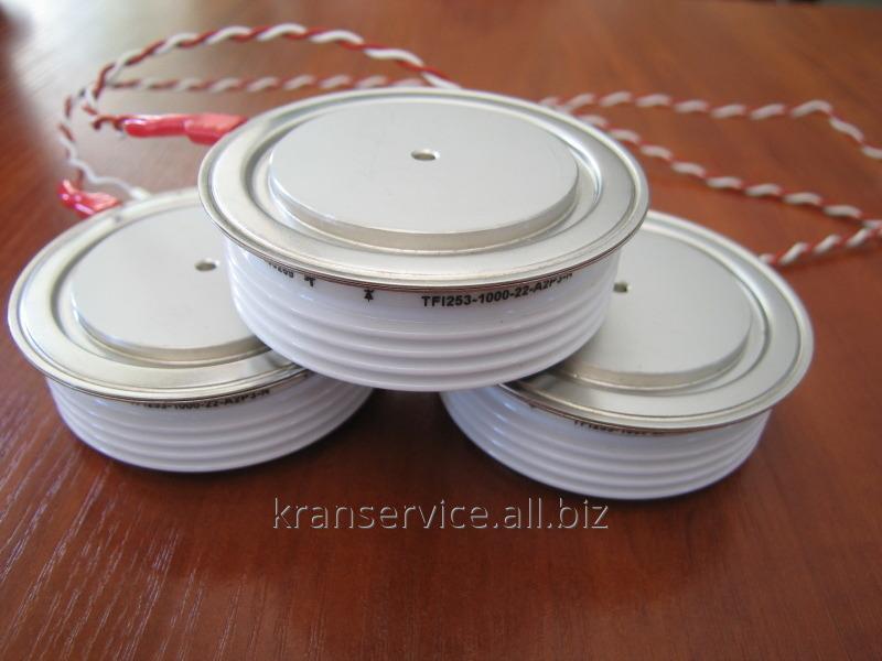Купити Тиристор швидкодіючий імпульсний ТБИ253-1000 (TFI253-1000)