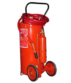 The fire extinguisher powder OP-100 (it is VP-90)