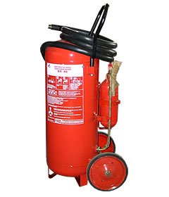 The fire extinguisher powder OP-50 (it is VP-45)