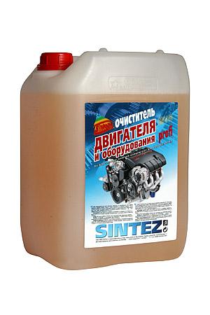 Купить Очиститель двигателя и оборудования SINTEZ PROFI SM - 110 10 л.