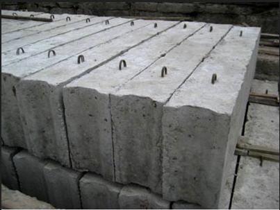 Блоки и балки фундаментные