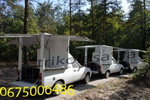 Buy Mobile coffee shop (mobìl′na kav'ârnâ) on the basis of Taurus or commercial trailer