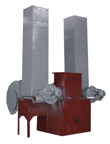 Теплогенератор Модель ТГ-300 стандартный мощностью 300 кВт , с транспортным вентилятором ВЦ 4-75 12 с дымососом и циклоном для очистки дымовых газо