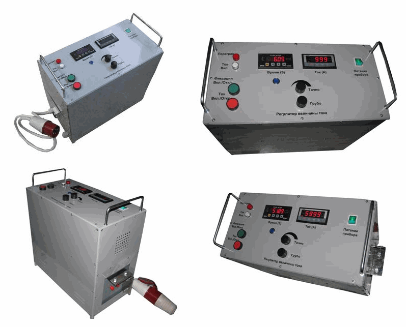 Buy The structure of UPA-10M of a progruzka of automatic switches for check of working capacity and control of amperes - second characteristics of automatic switches alternating current of industrial frequency