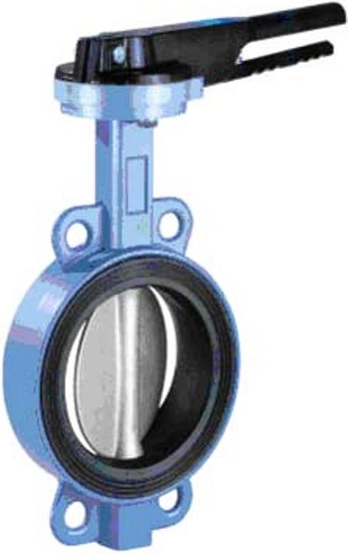Затвор межфланцевый поворотный 20W92E TTV Ду600 Ру10