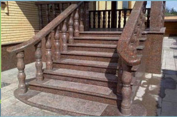 Buy Steps and eaves from granite