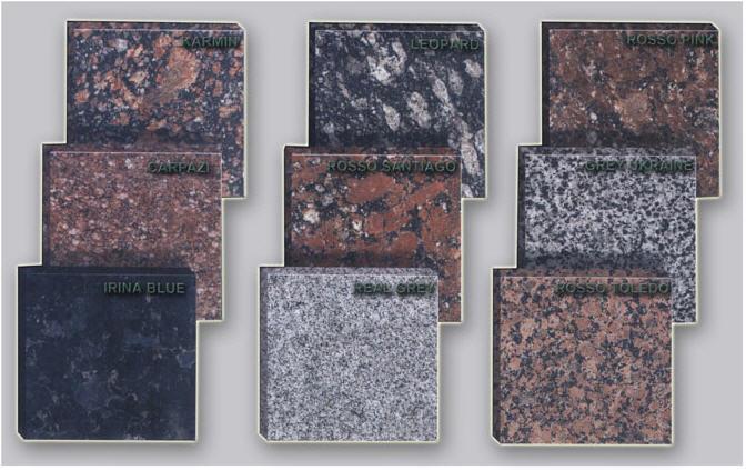 Buy Plates are granite facing