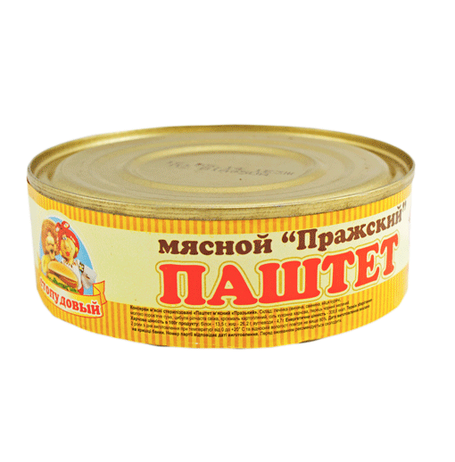 """Buy Pate """"Prague meat"""" Sto Pudov 240 g, tin can"""