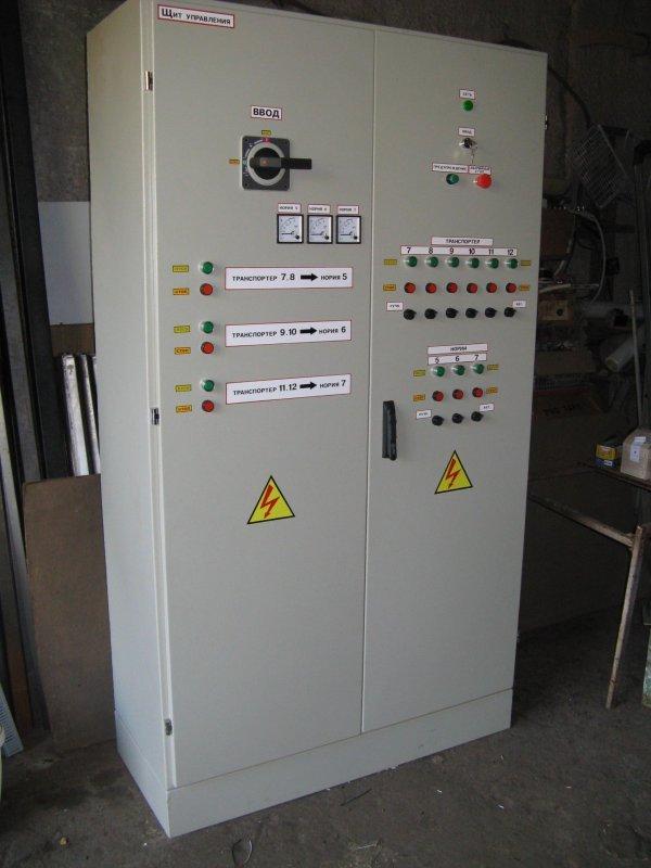 Шкаф управления и автоматики.