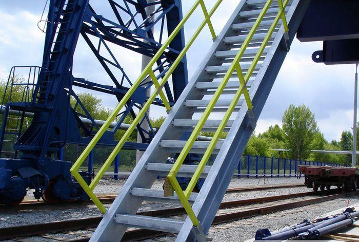 Лестница металлическая,