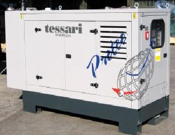 Power plants and distributing devices Diesel three-phase power plants, diesel TESSARI generators from Italy