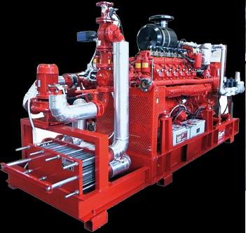 Газовые электростанции TESSARI