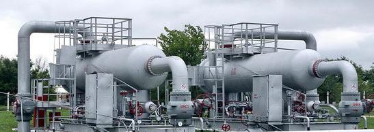 Хранилища газовые  подземные