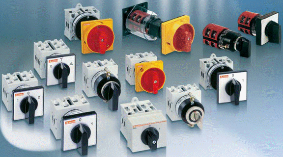 Выключатели кулачковые 25 A - SK25 (стандартное исполнение). СПАМЕЛ