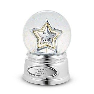 Купить Музыкальный стеклянный шар Звезда