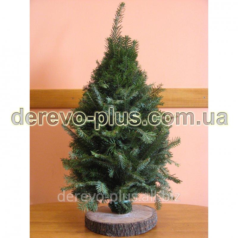 Новогодняя елка (ветки ели, вязанные) 30-45см