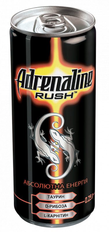 a rush of adrenaline