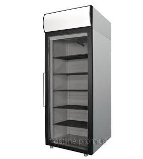 Купить Шкаф холодильный Polair grande из нержавеющей стали со стеклянными дверьми DM107-G. Аппараты морозильные