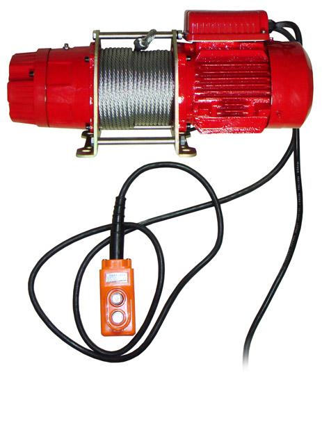 Лебедка электрическая облегченная КDJ-300