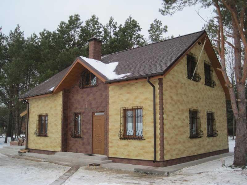 канадский дом под ключ