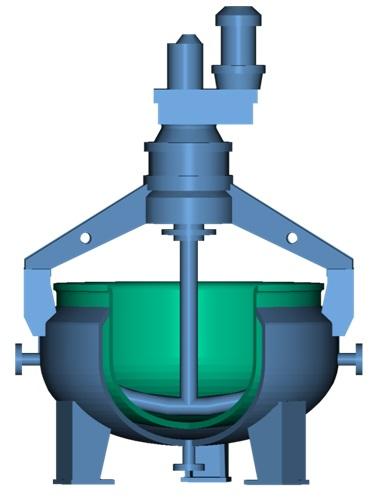 Аппараты (чаши) выпарные стальные эмалированные