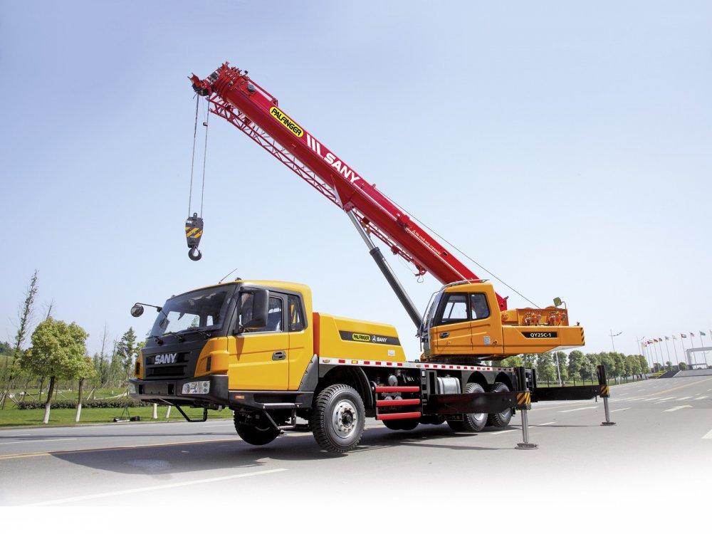 Купити Автокран Palfinger Sany QY 25 C1, г/п 25 тонн, 5 секцій