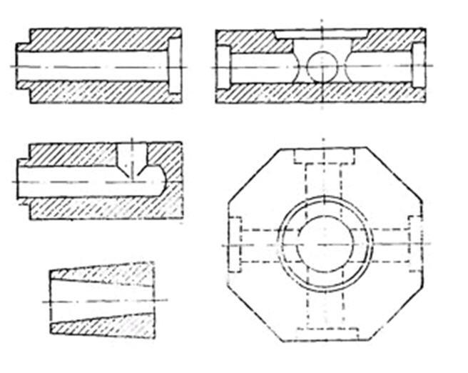 Изделия огнеупорные шамотные для сифонной разливки стали