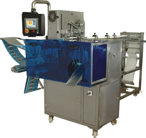 Buy Sachet automatic machine for packaging of wet towel wipes