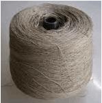 Текстильная пряжа из конопляного волокна